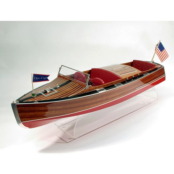 1930 Chris Craft Model Boat Kit By Dumas Models Found On Polyvore