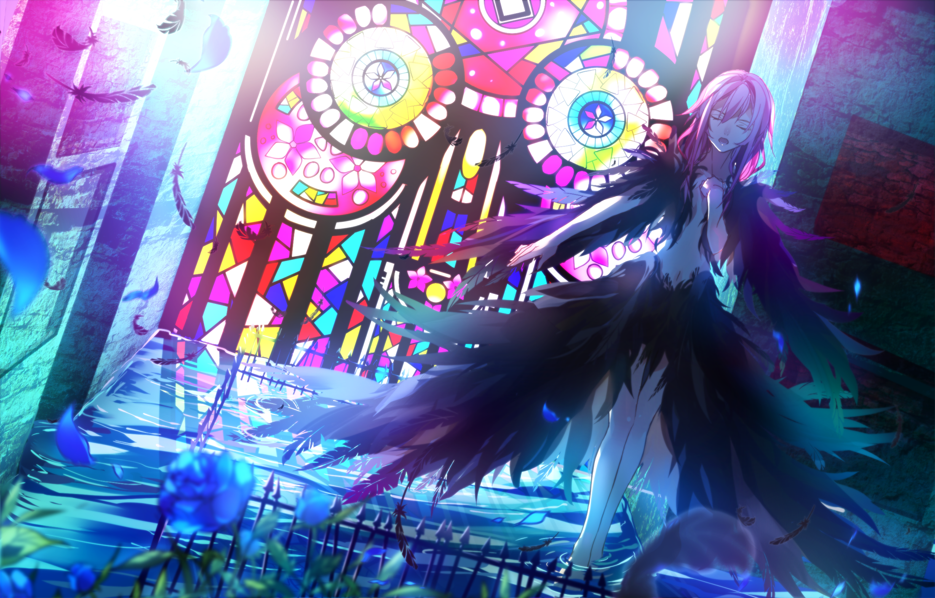 Yuzuriha Inori Anime, Anime wallpaper, Awesome anime