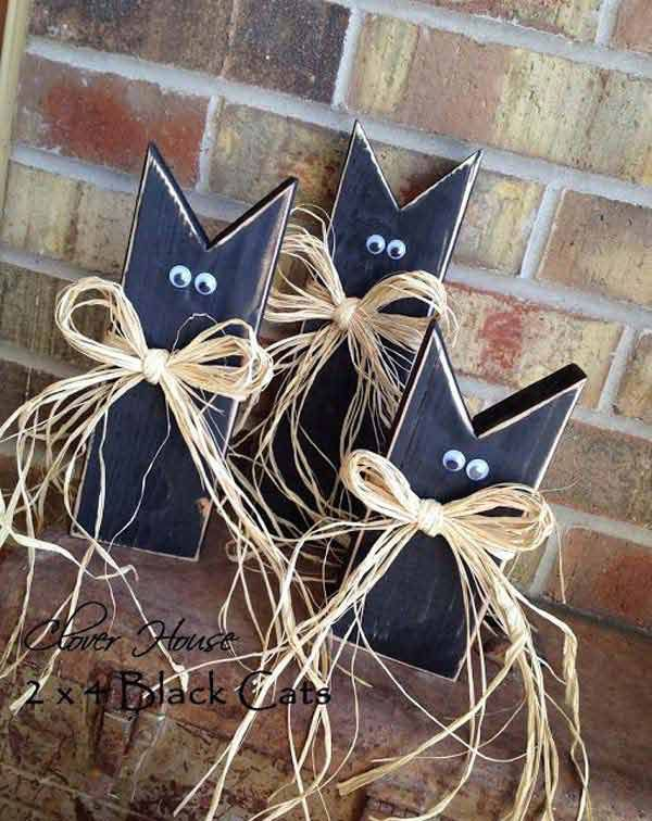20 Halloween Decorations Crafted from Reclaimed Wood Budgeting