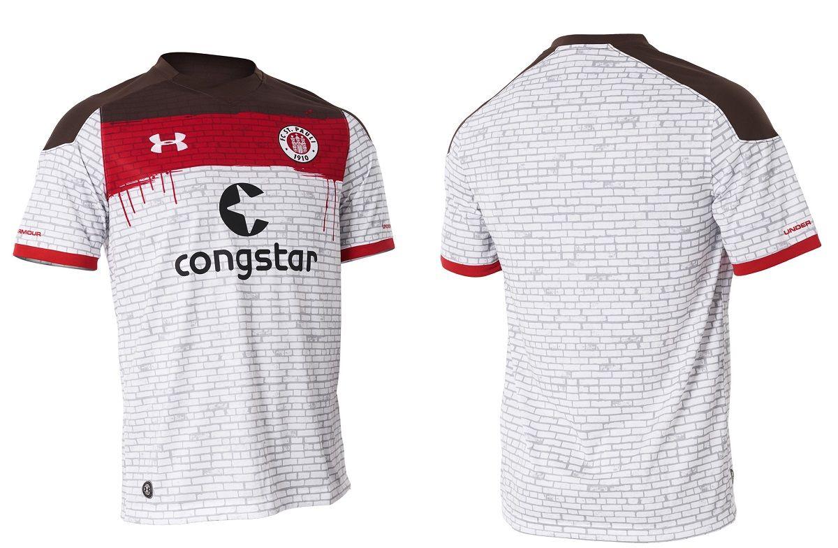 Camisas do St. Pauli 2017-2018 Under Armour  a4db26a2edc3f