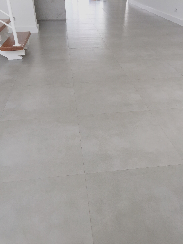 Porcelanato Que Imita Cimento Queimado Moodboard Hall Sala  -> Sala Com O Piso Porcelanato Polido Cinza