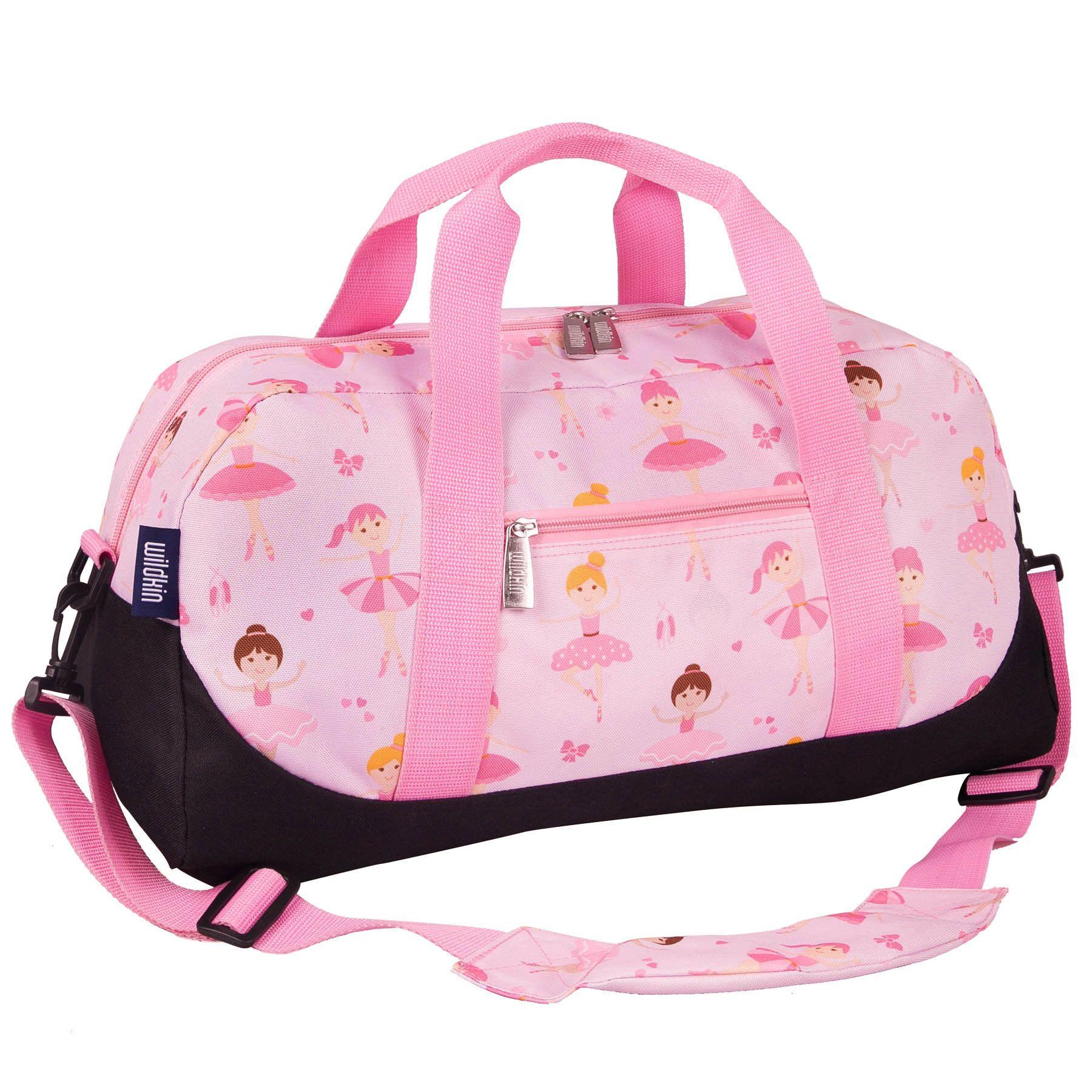 Personalized Pink Ballet Bag Monogram Dance Bag Duffle Bag