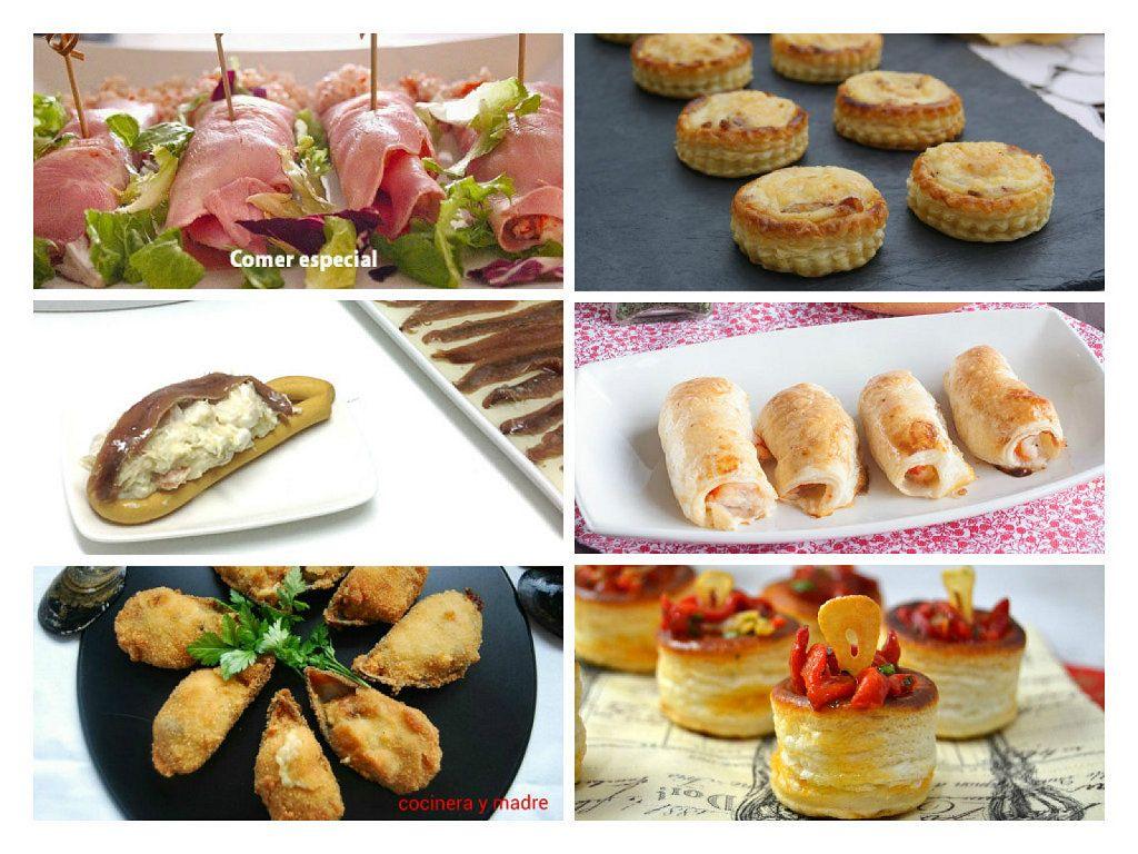 6 recetas de bocaditos deliciosos para una comida o cena de picoteo ...