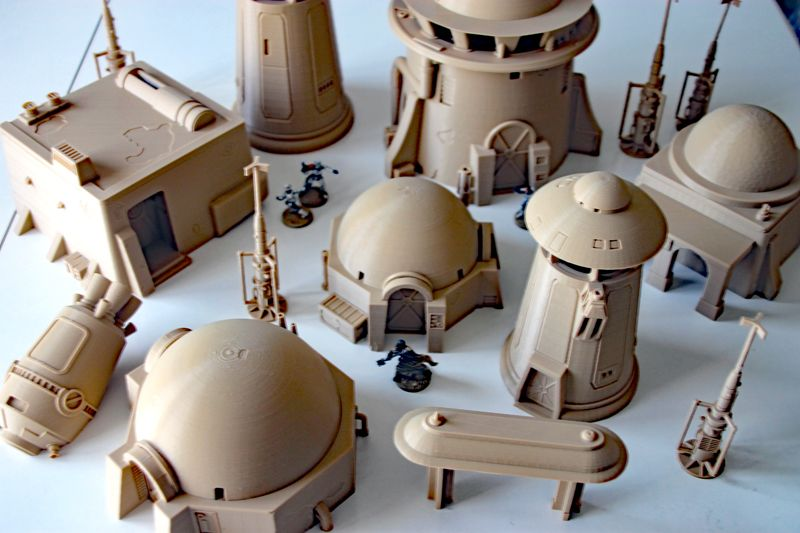Tatooine Star Wars Legion Terrain Star Wars Models Star Wars Diy Star Wars Art