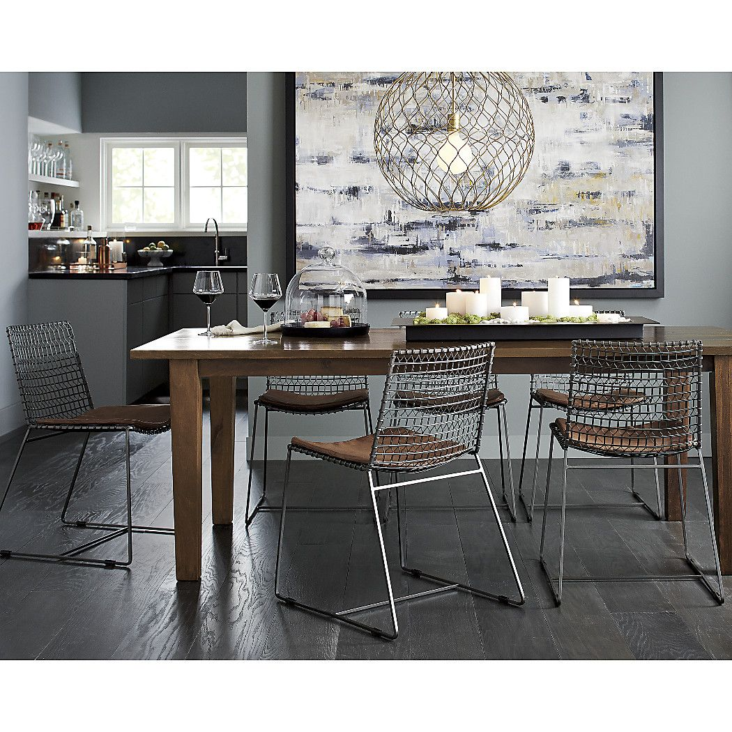 Basque82diningtablehoyneje17 Metal Dining Chairs Dining Chairs Dining Table