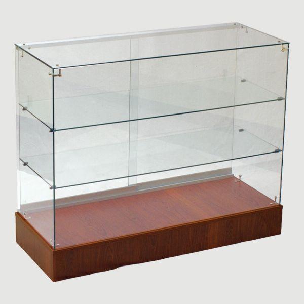 Frameless Glass Display Case For Retail Full Vision Full Vision Display Cases Display Case Glass Store Glass Display Case