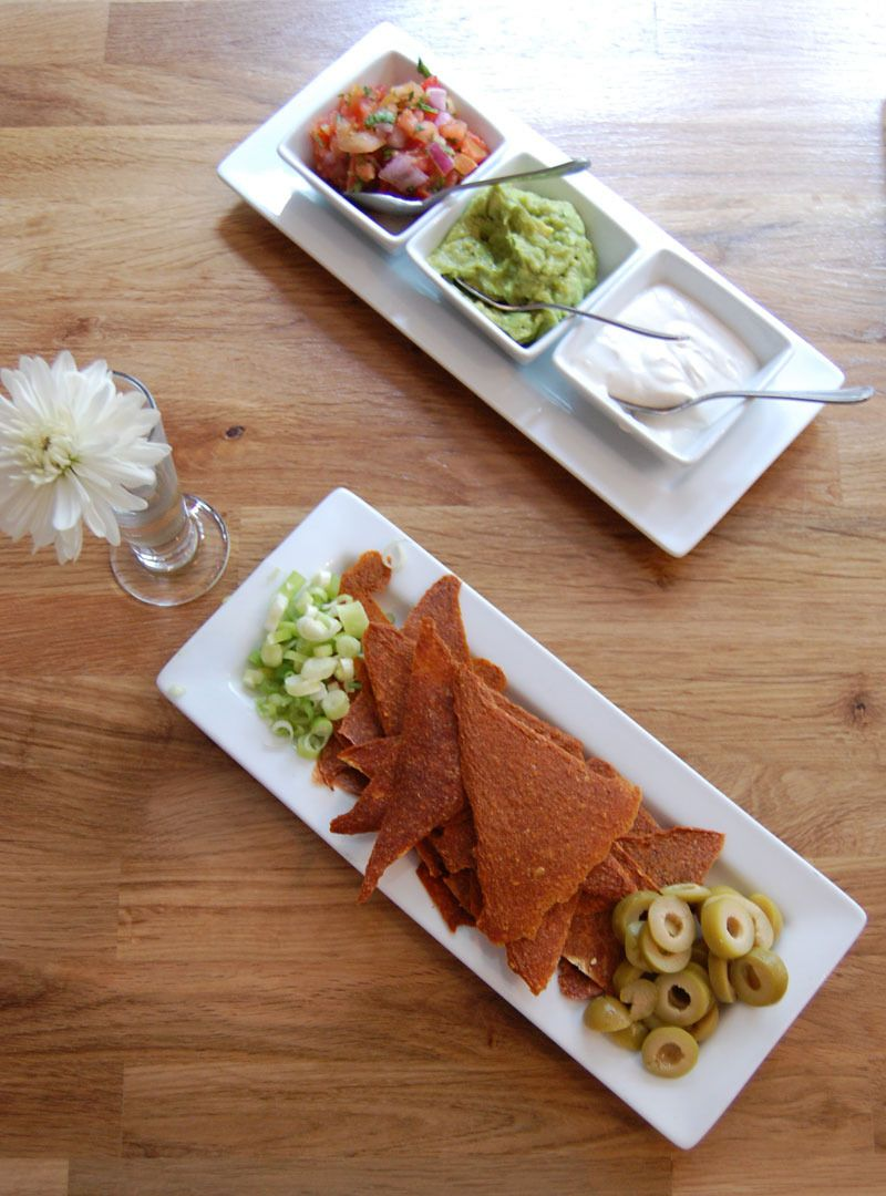 Lunch At Rawlicious New York Vegan Restaurants Nacho Chips And