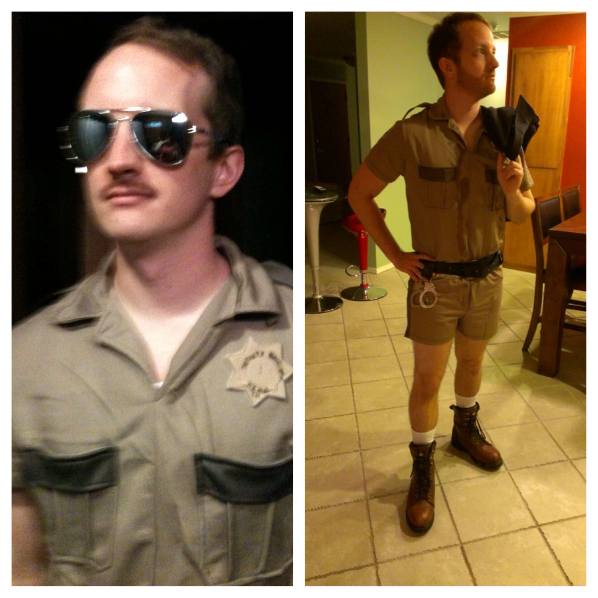 Change Facial Hair And Add Blood Lt. Dangle Reno