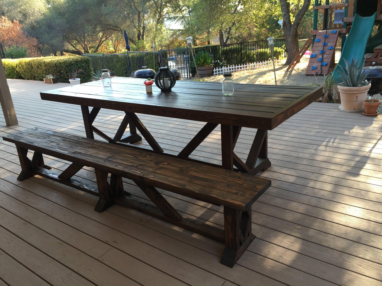 Diy Extra Long Wood Bench