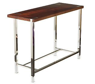 Russell Espresso Sofa Table