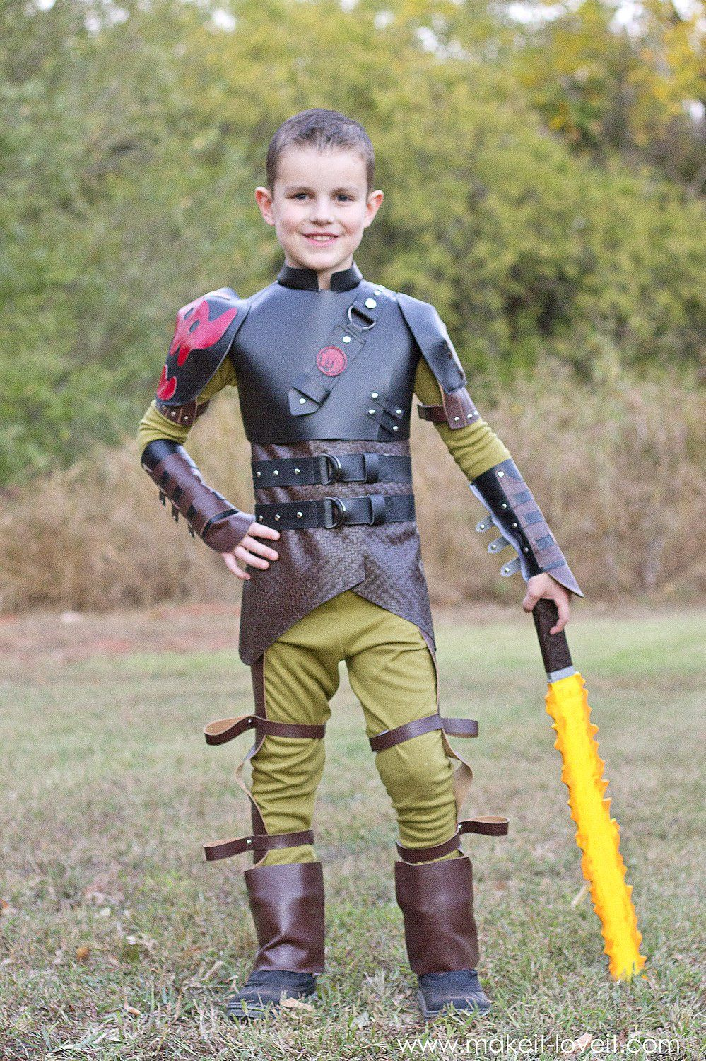 Diy hiccup costumeom how to train your dragon 2 pinterest diy hiccup costumeom how to train your dragon 2 via make it and love it ccuart Gallery