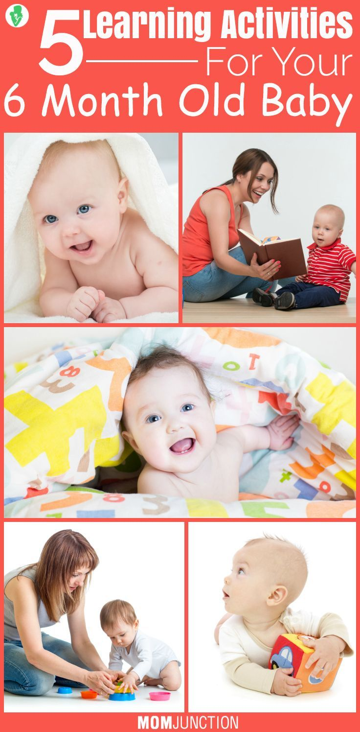 70805caa7fc9 15 Games And Activities For 6-month-Old Baby | Military Parenting ...