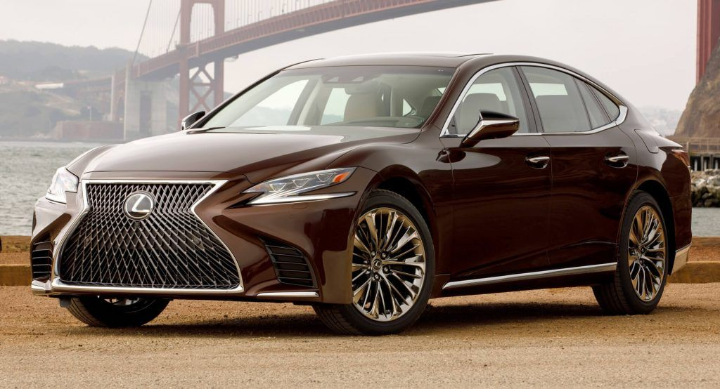 Lexus Ls Facelift To Get 600h V8 Powered Hybrid And Four Cylinder Turbo Carscoops In 2020 Lexus Ls Lexus Lexus Ls 460