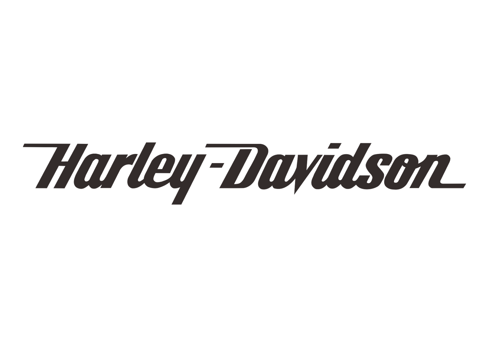 Harley Davidson Logo Black And White