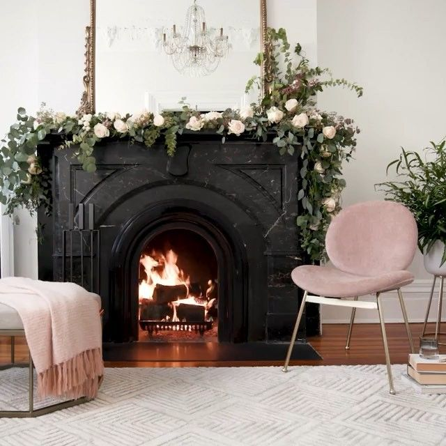 Valentine's Pro Tip: turn the heat up on any situation with the romantic glow of west elm Fireplaces, now streaming on YouTube + our Apple TV app! Check the link in profile to set the mood. 🔥💘