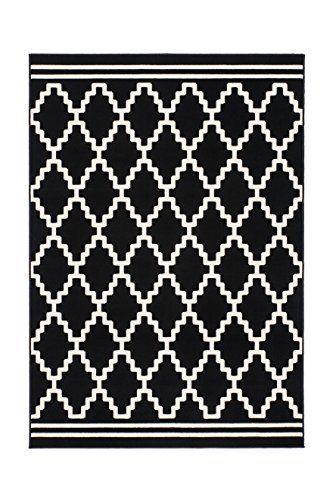 Teppich Wohnzimmer Carpet Geometrie Design Lina 200 RUG Rauten - Teppich Wohnzimmer Braun