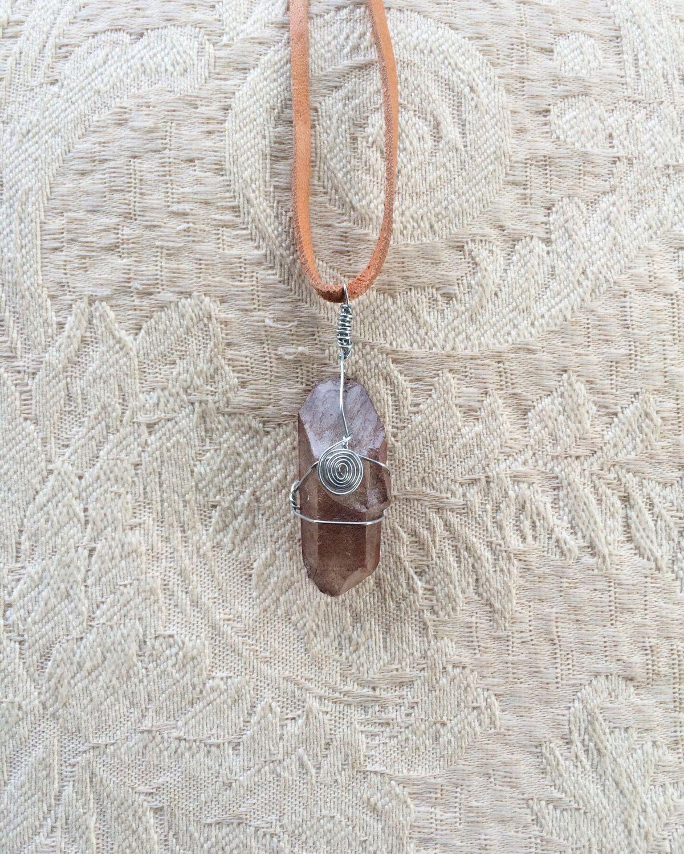 Ein persönlicher Favorit aus meinem Etsy-Shop https://www.etsy.com/de/listing/463958684/smokey-quartz-necklace