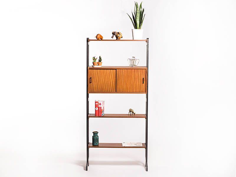 Vintage Simplalux wandsysteem – Vintage Furniture Base