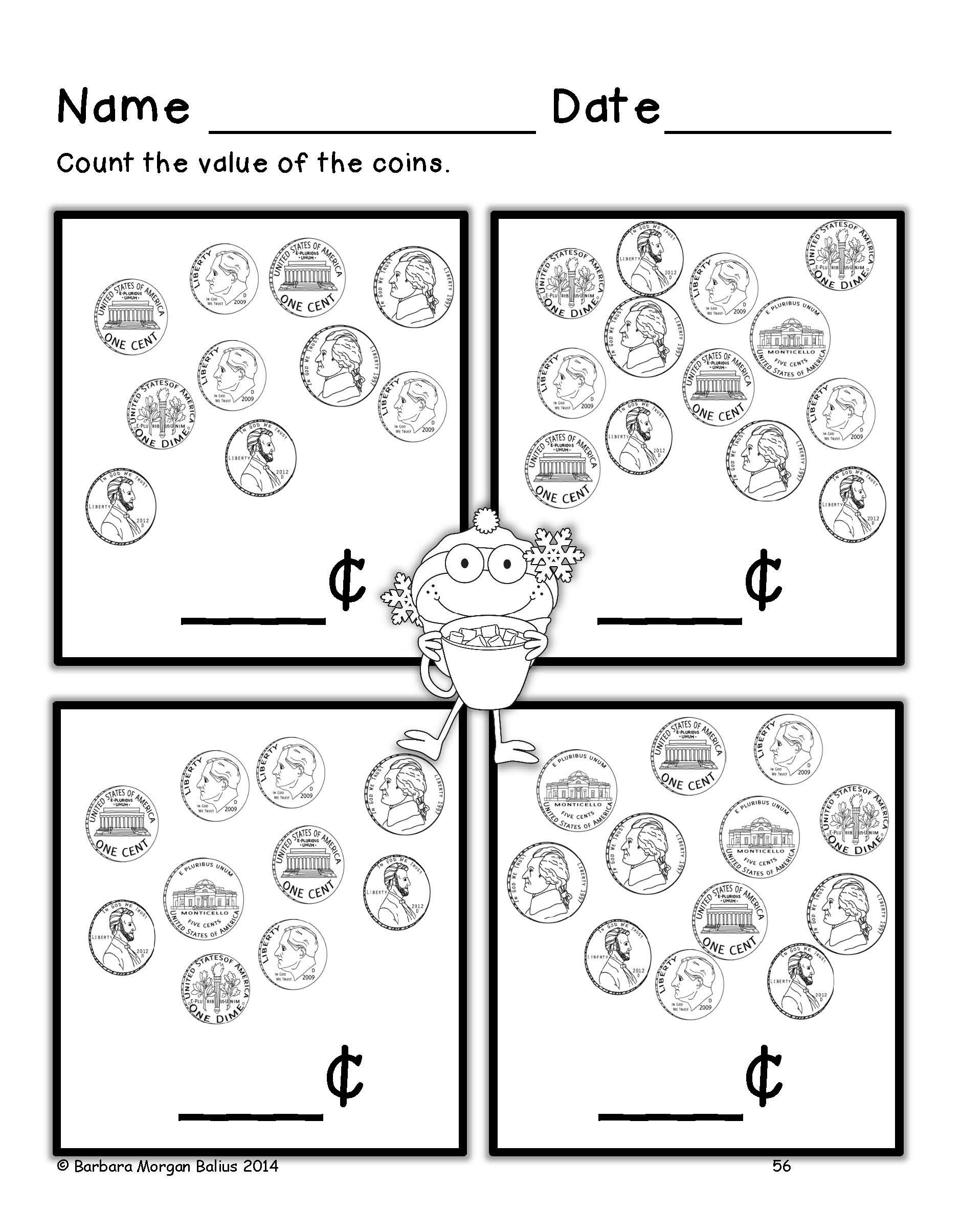 What Is The Value Of These Coins Money Worksheets Second Grade Math Money Math [ 2409 x 1879 Pixel ]