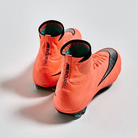 football boots orange nike gold metal baseball cleats