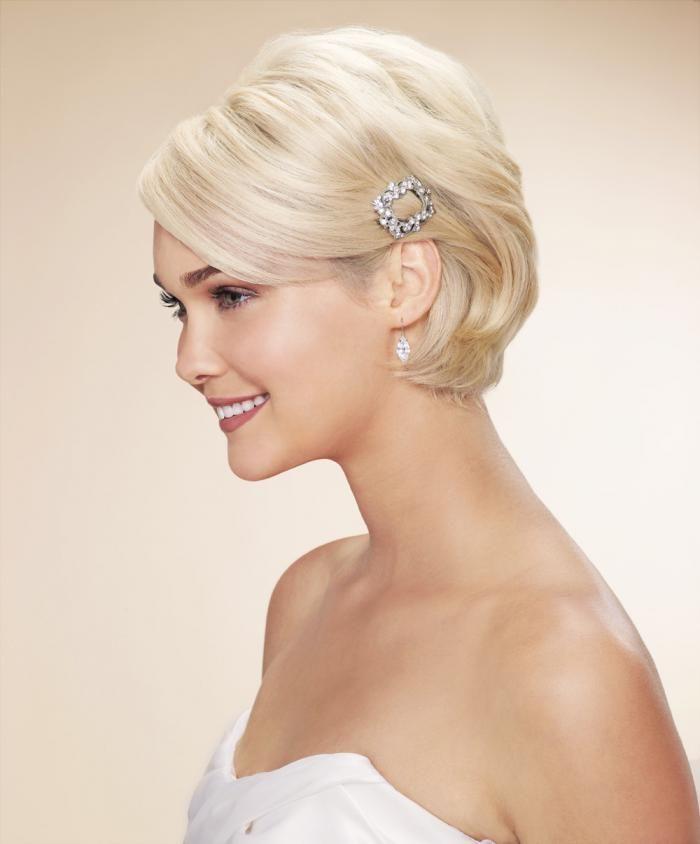 Свадебные прически на короткие волосы: 50 фото (с ...