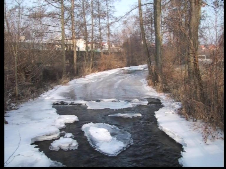 #Winter in #Deutschland #Franken fränkische #Saale (Winter 2008/09)