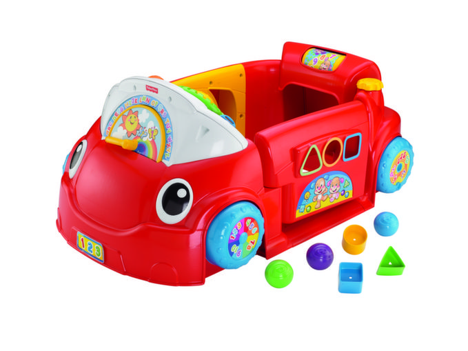Fisher Price Laugh and Learn, Smart Stages, Crawl Around Car Review