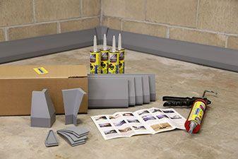 Diy Basement Water Control System Basement Ceilings