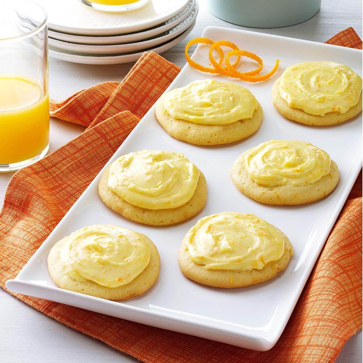 Grandma Brubaker S Orange Cookies Recipe Orange Cookies Desserts Cookie Recipes
