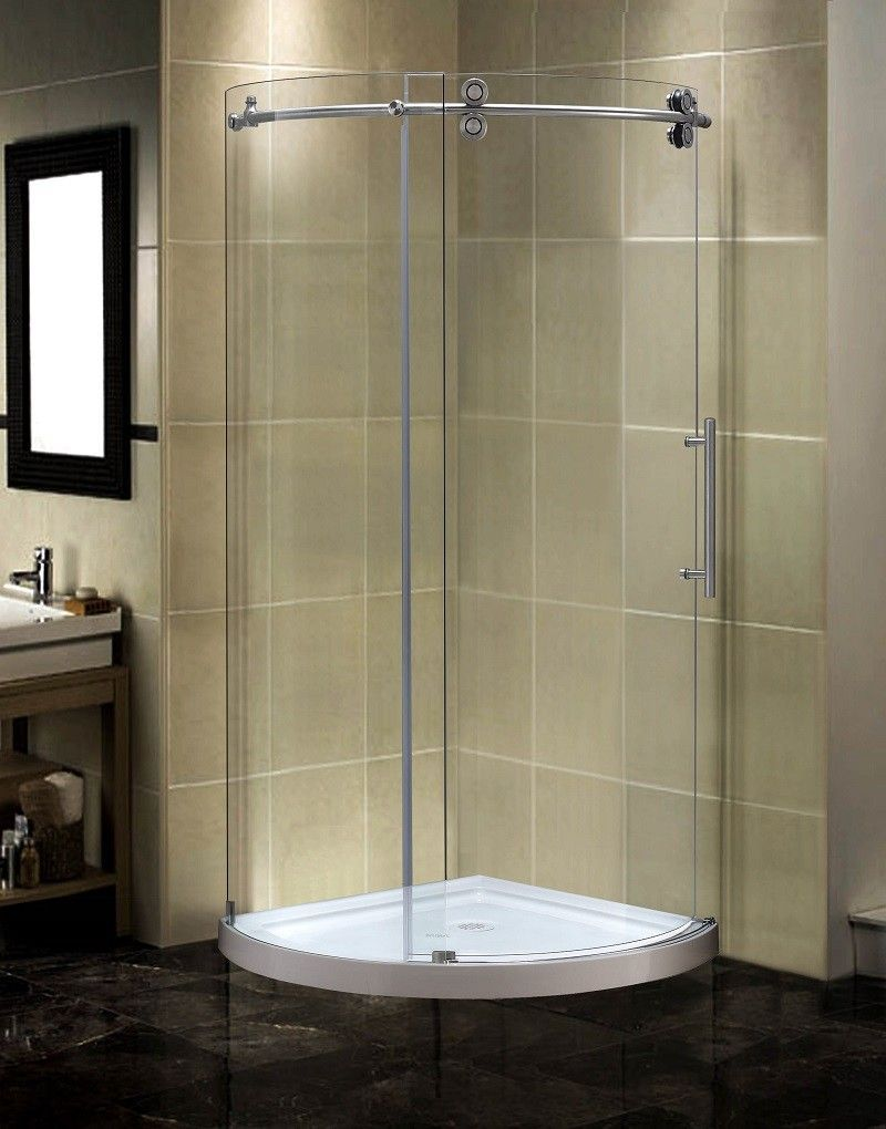 Orbitus 40 X 75 Round Sliding Shower Enclosure Products