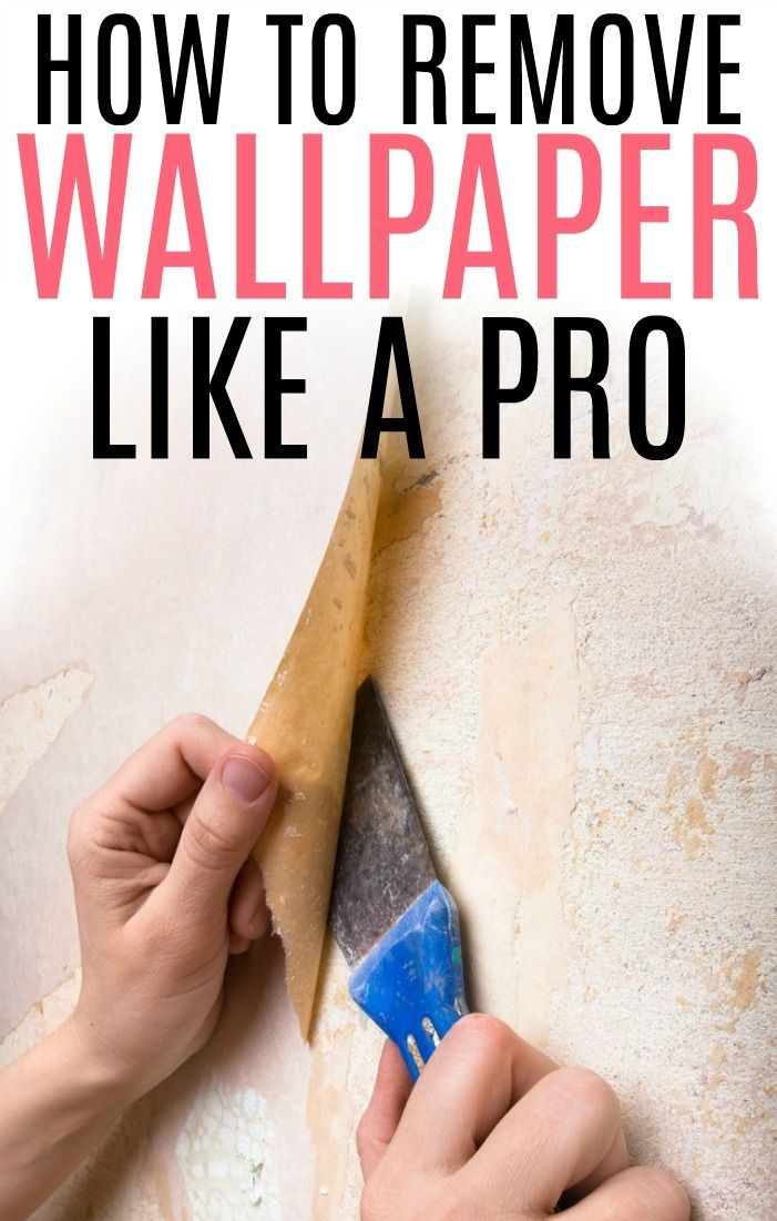 The Easiest Way To Remove Wallpaper | Removing old ...