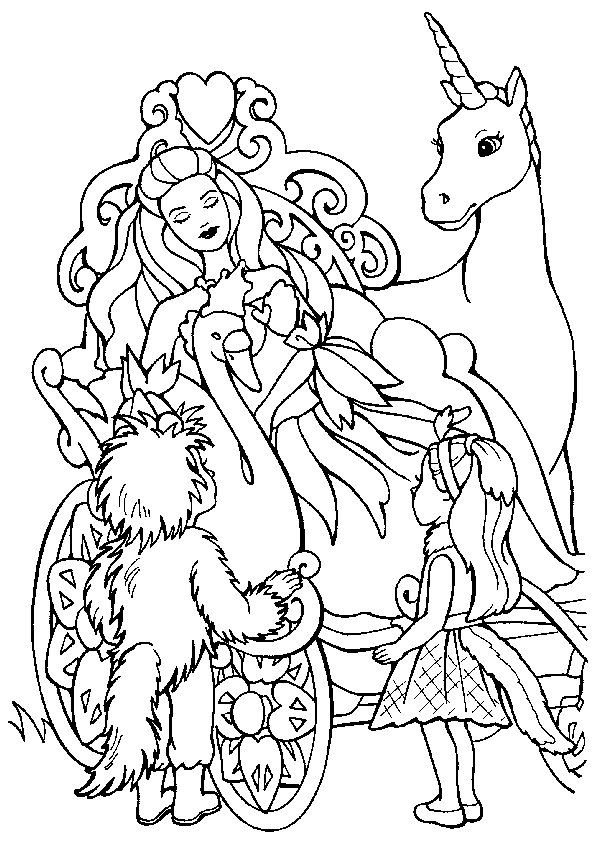 Ausmalbild Einhorn Einhorn Prinses Kleurplaatjes Kleurplaten Kleurboek