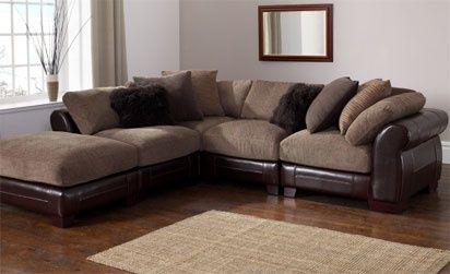 Java Leather Corner Sofa