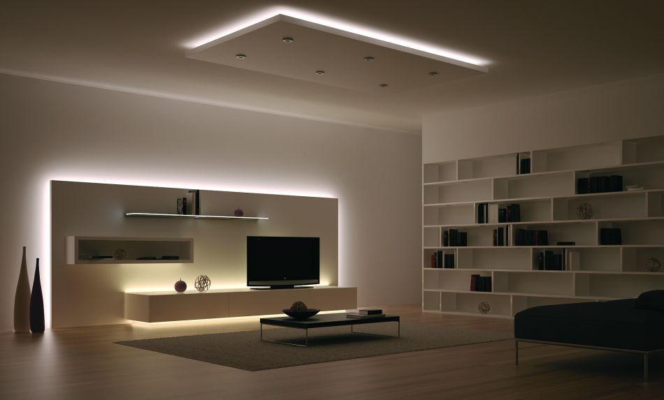 Resultado de imagen de Luces led en muebles