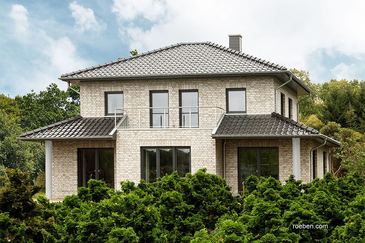 Röben Klinker, Bricks Einfamilienhaus Klinker