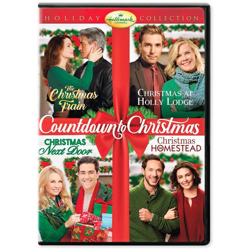 Hallmark Countdown to Christmas Holiday Collection DVD in
