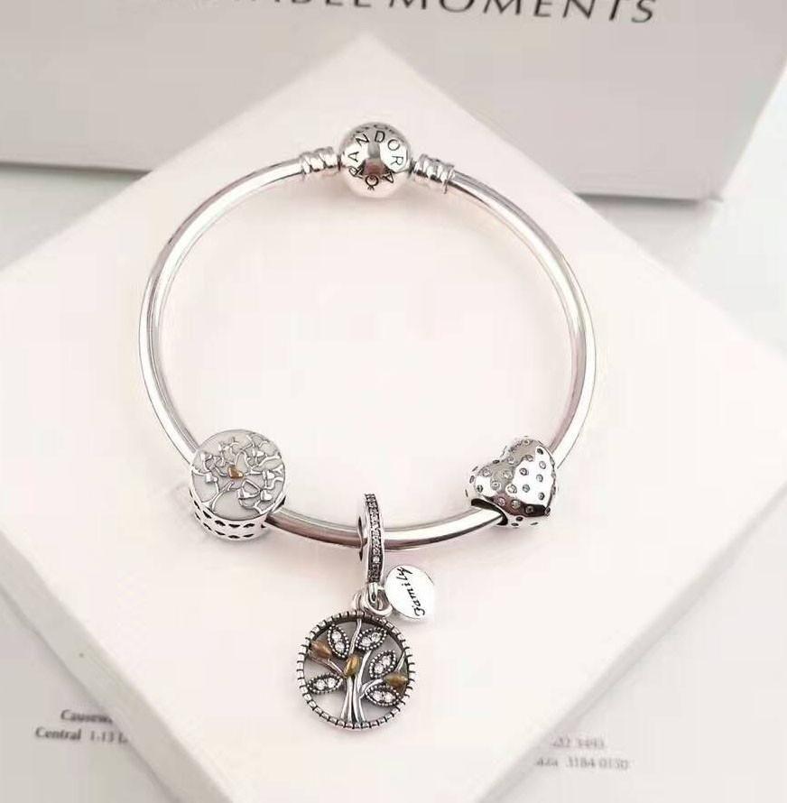 Pandora Family Tree Charm Bracelet Pandora Jewelry Charms Pandora Bracelet Charms Tree Charm Bracelet