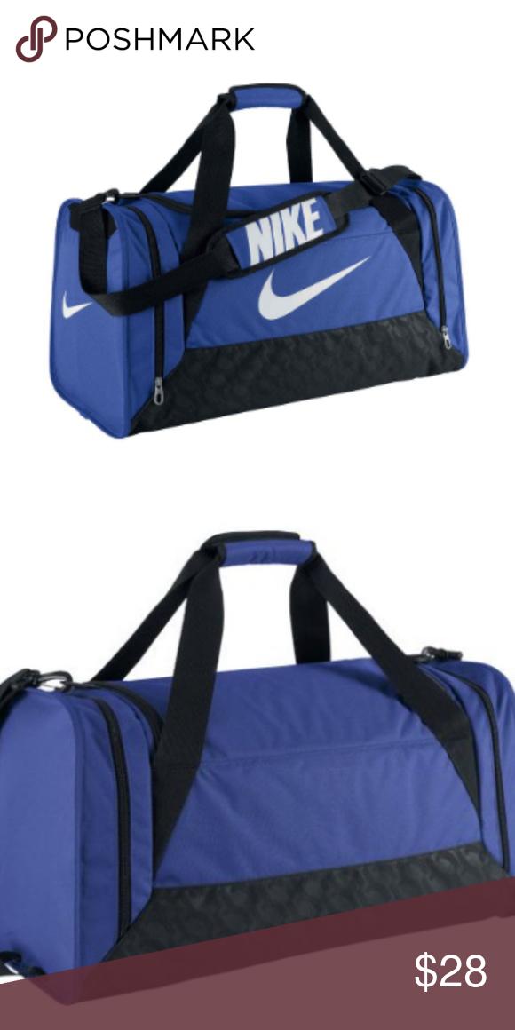 532bf6192671 Nike Brasilia 6 Medium Duffel Bag New with tags. Blue