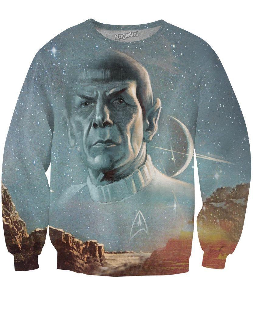 Live Long and Prosper Crewneck Sweatshirt