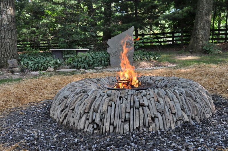 Fire Pit Inspired By Dan Snow Built