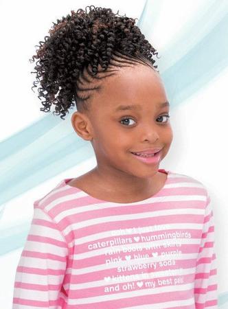freetress for kids cork screw ponytail in 2020  lil girl