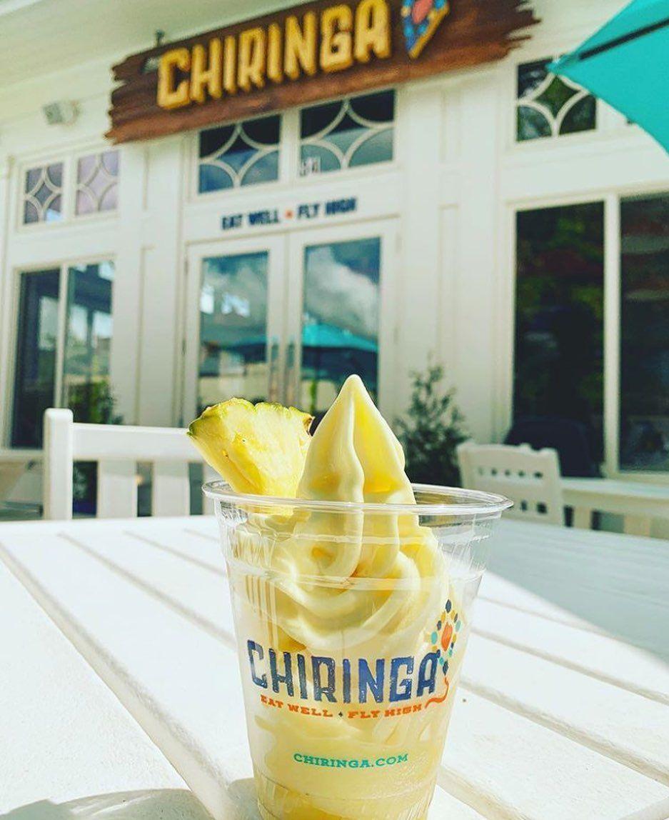 Sometimes you just need to chill 😎 At your home in West Main, you're a few steps closer to @Chiringatl 's Dole whip! 🍦Click the link in bio to find out more about living in West Main Townhomes! ⬆️ . 📷 Repost: @awesomealpharetta . . . . . . . . . .