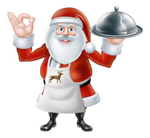 Cartoon santa with cooking vector material 05 - https://www.welovesolo.com/cartoon-santa-with-cooking-vector-material-05/