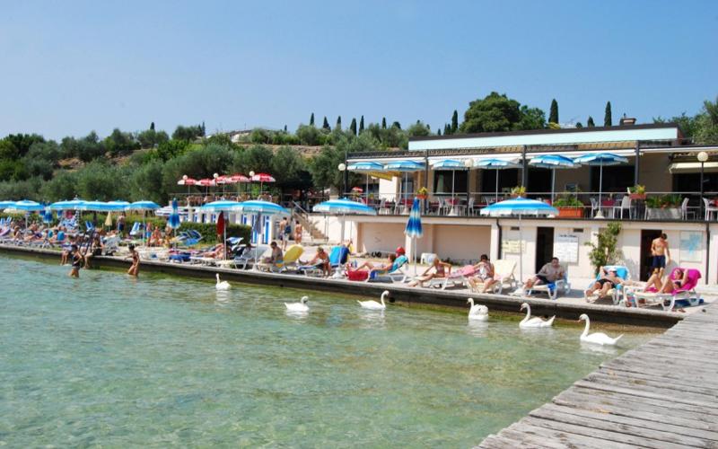 Restaurant Lido Delle Bionde In Sirmione Gardasee Com Reiseziele Ausflug Reisen