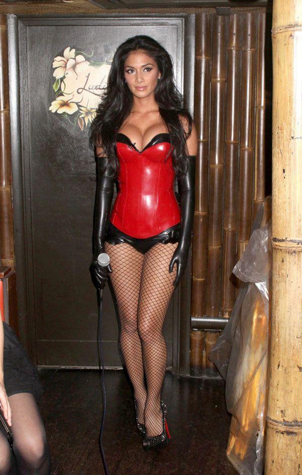 scherzinger halloween Nicole
