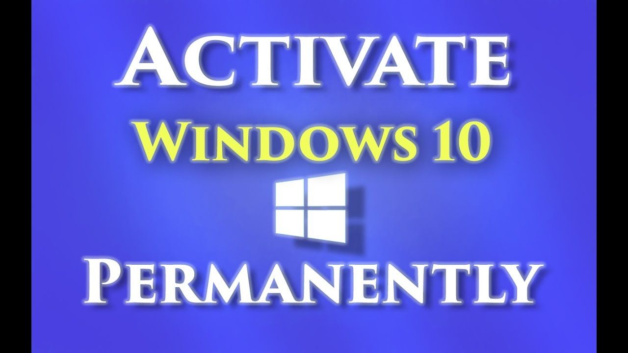 How to activate windows 10 permanently 2017 windows 10 activator how to activate windows 10 permanently 2017 ccuart Images