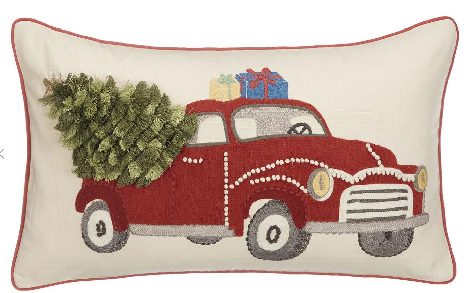 John Lewis Partners Driving Home For Christmas Cushion Driving Home For Christmas Christmas Cushions Christmas Home