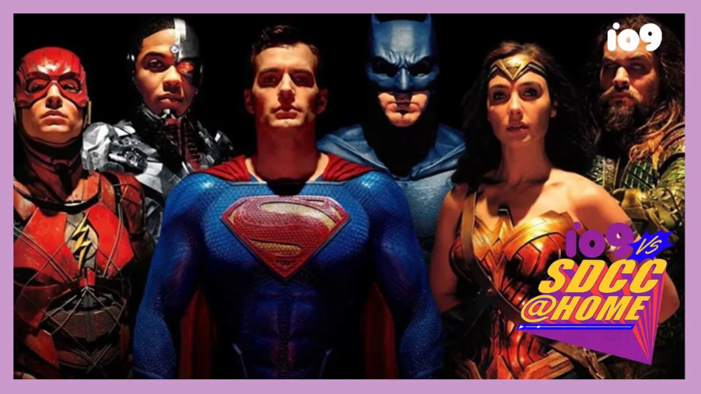 Zack Snyder's NonSDCC Justice League Event Was... Super