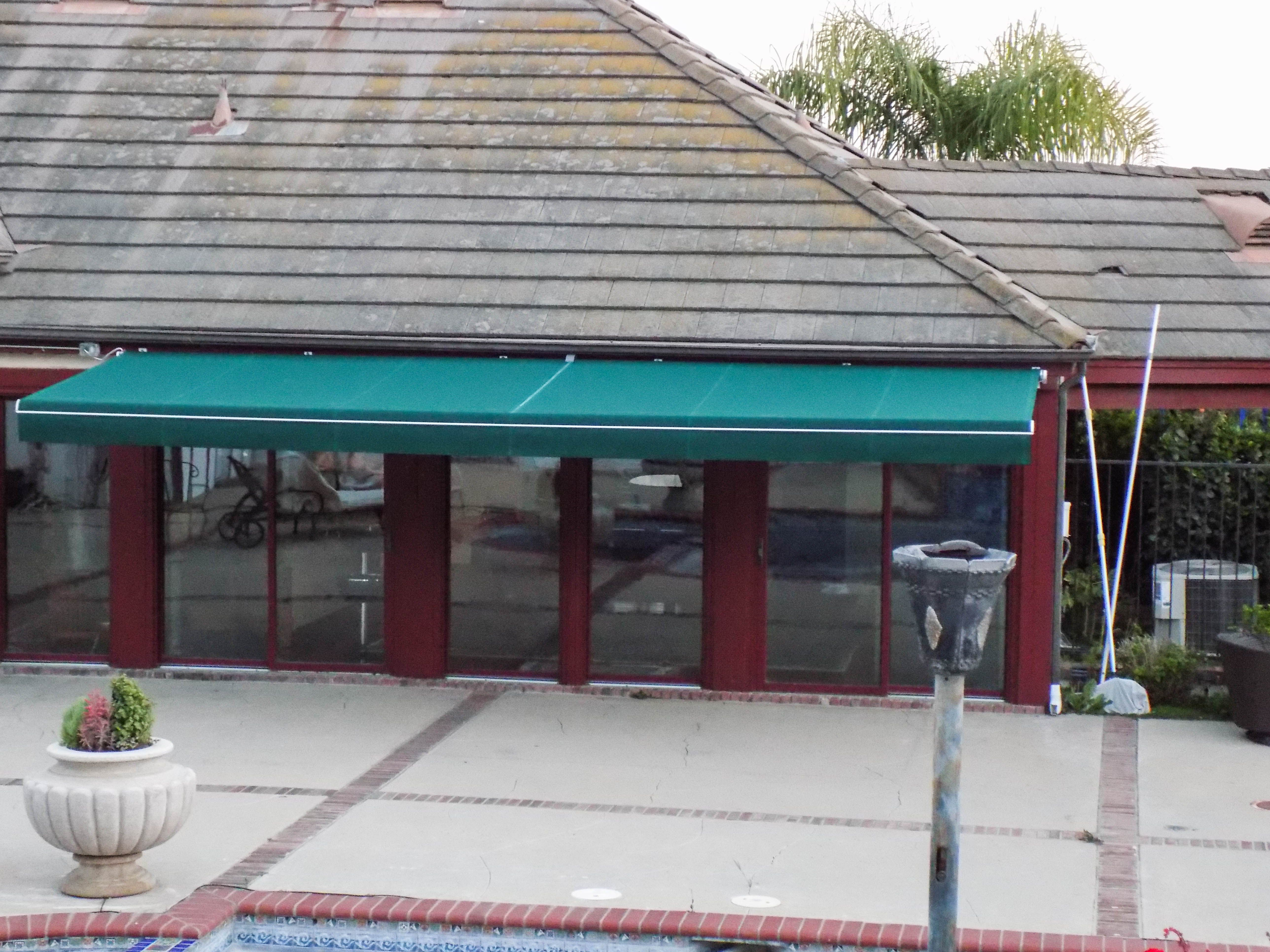 Another Retractable Awning Fabric Replacement If You Have An Existing Retractable Or Fixed Awning And The Fabric Is F Retractable Awning Wood Trellis Awning