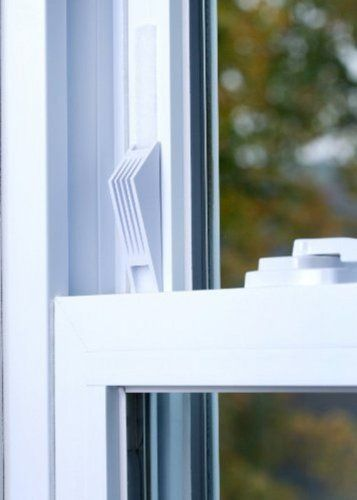 1 Cresci Products Window Wedge 2 Per Pack White Color 9 99 Window Stops Window Safety